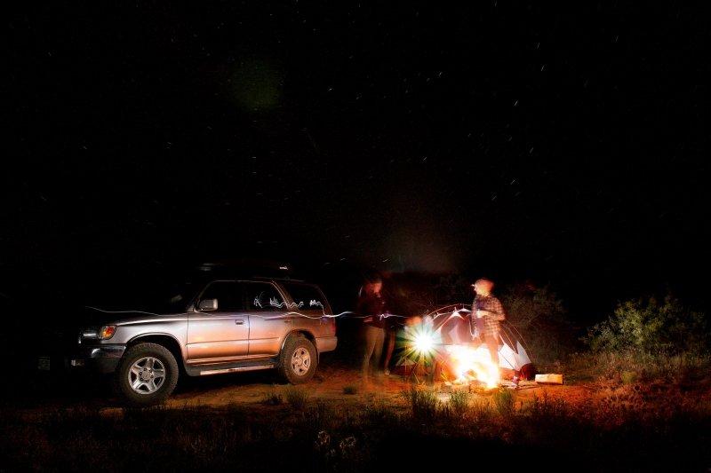 Washington Island Camping