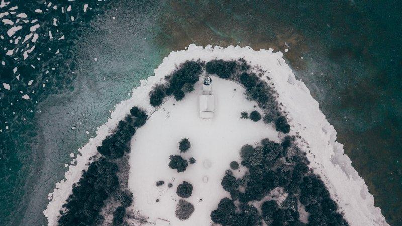 Cana Island Lighthouse Door County Wisconsin