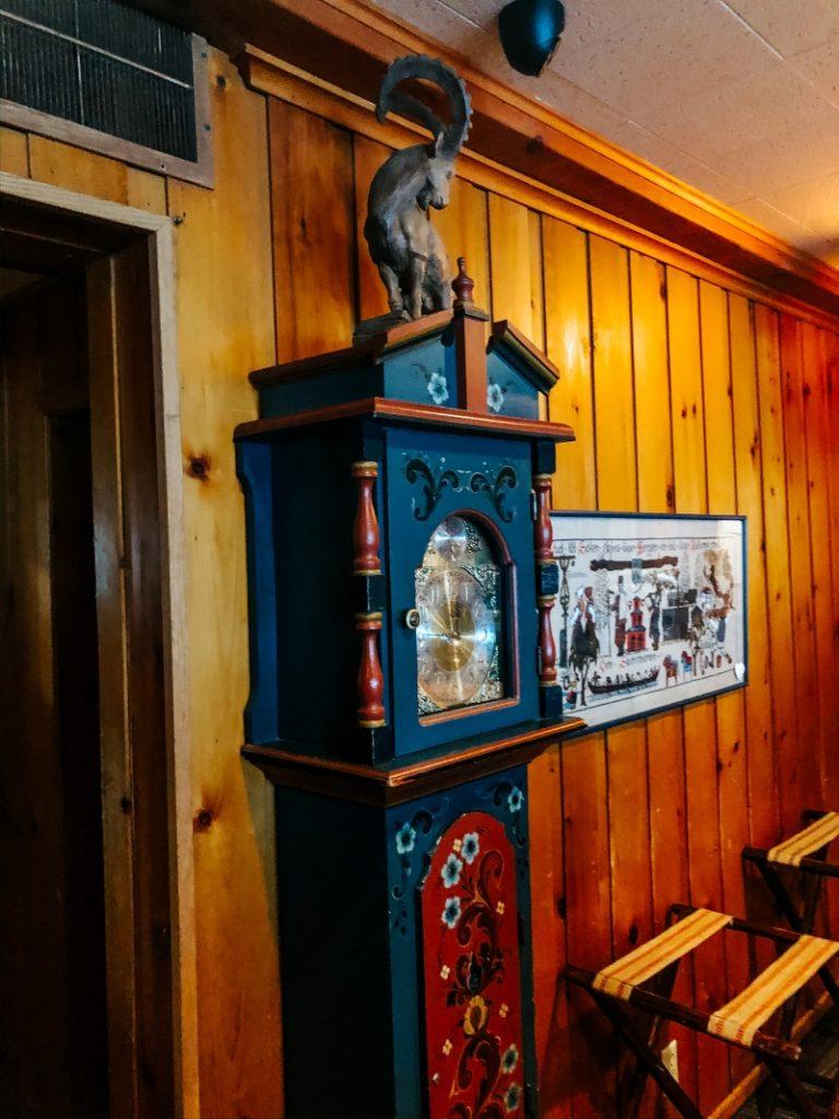 Al's Goat Grandfather Clock