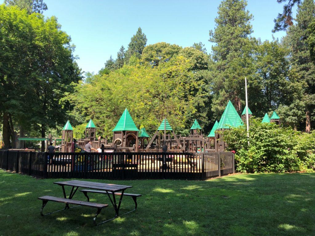 Fort Sherman Playground Coeur d'Alene City Park
