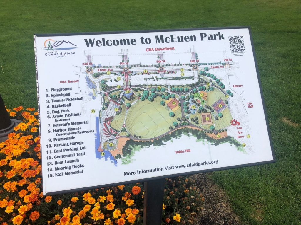 McEuen Park Map
