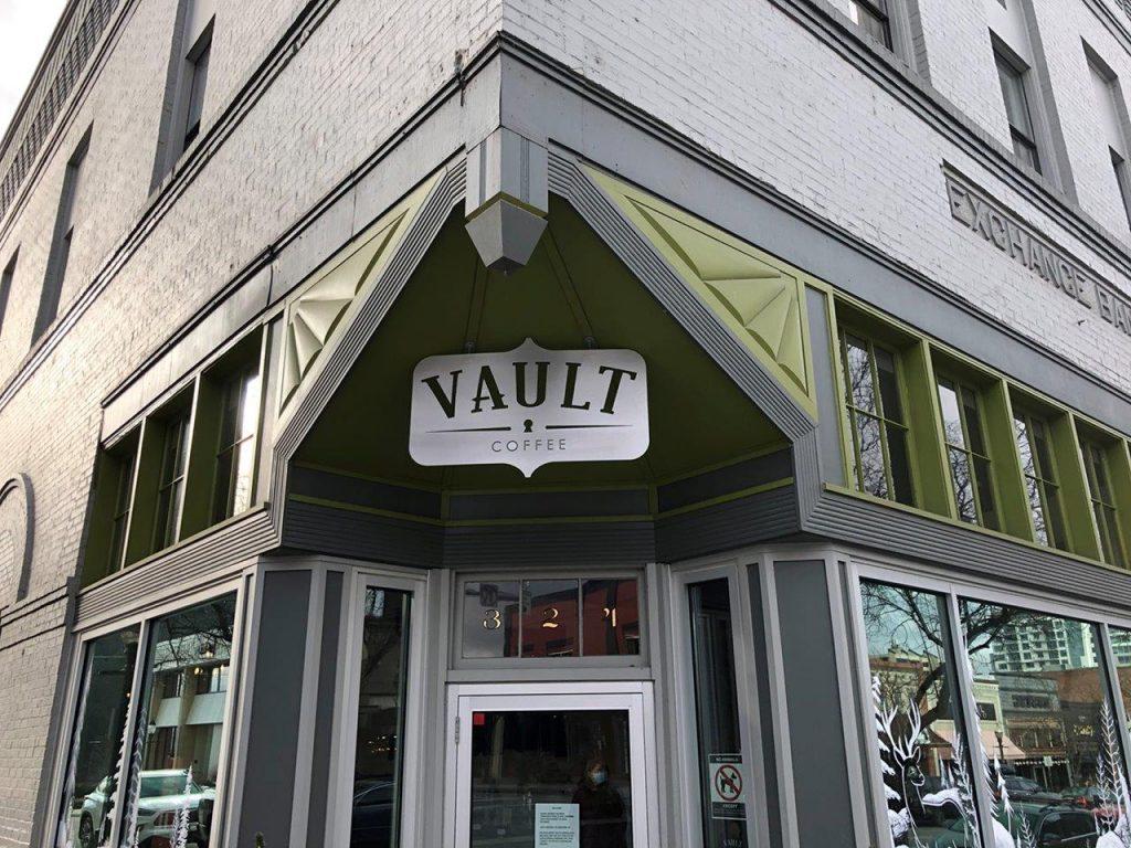 The Vault Coffee Shop CDA